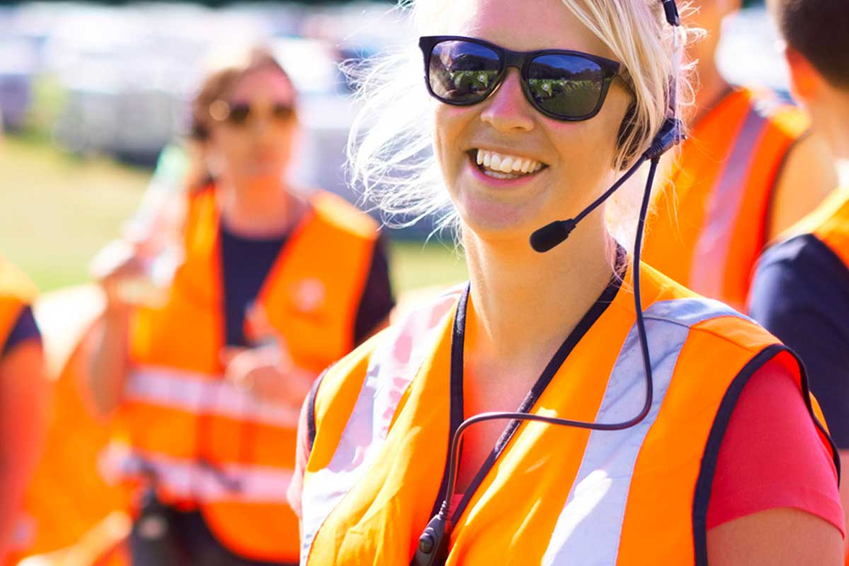 hire radios for events
