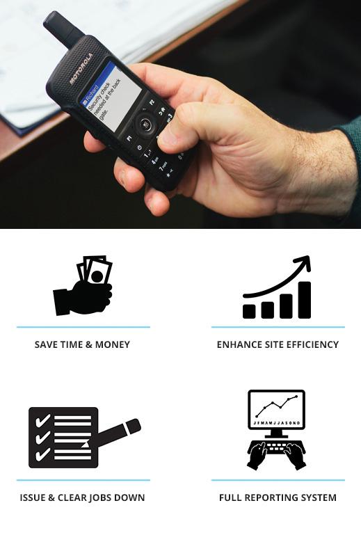 job ticketing radio app