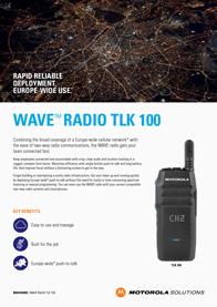 WAVE-Radio-TLK100-Brochure